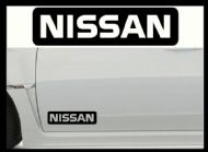 NISSAN CAR BODY DECALS